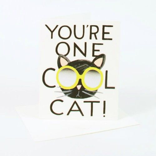 Rifle Paper Co Cool Cat Card