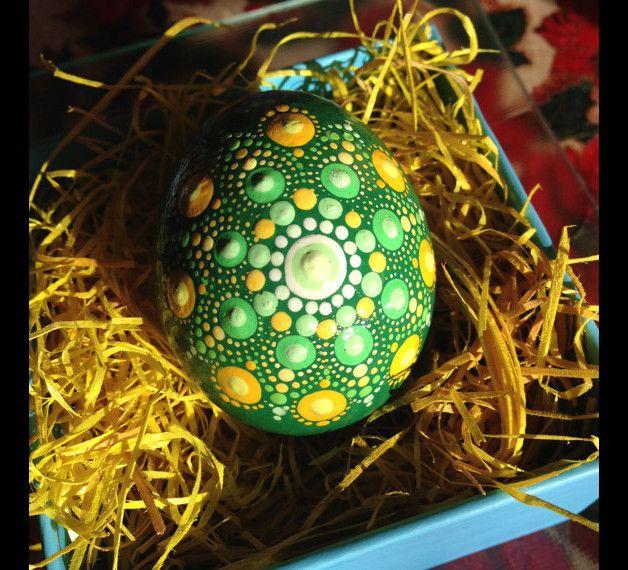 Mandala Ostern Ei made by Create And Cherish via DaWanda.com