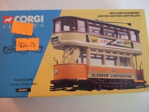 Corgi Glosgow Corpration Tram Motorised DCC Fitted OO Gauge | eBay