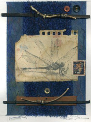 ⌼ Artistic Assemblages ⌼ Mixed Media & Collage Art - Phyllis Lear