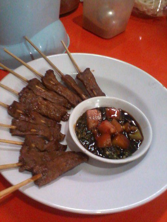 Sate Maranggi, Traditional Food West Java. Indonesia