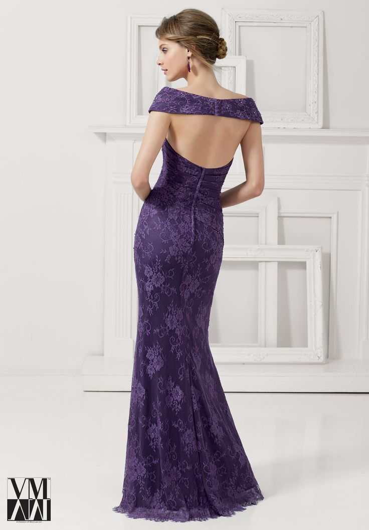 Evening Gowns / Dresses Style 71113: Lace with Beading http://www.morilee.com/socialocassion/vmcollection/71113