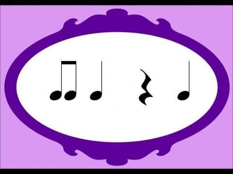 ta te te and rest - YouTube. Use this in your music lessons!  Have a look at www.crescendo.com.au for loads of downloads!!!