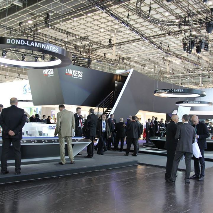 Exhibition Stand Futuristic : Lanxess exhibition booth stand exhibit pinterest
