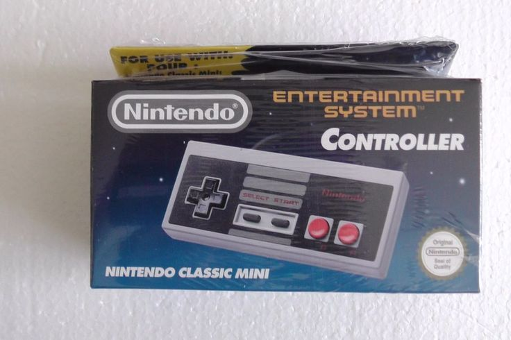 "Play NES games the way they're meant to be played – with a full-size ""original"" controller.Nintendo Classic Mini: NES Controller can also be used with NES Virtual Console games on your Wii or Wii U console by connecting it to a Wii Remote. 
