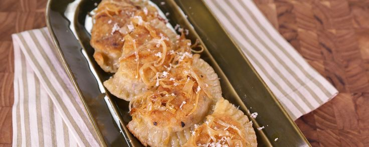 Make Michael's famous Pierogies at home with this delicious recipe!