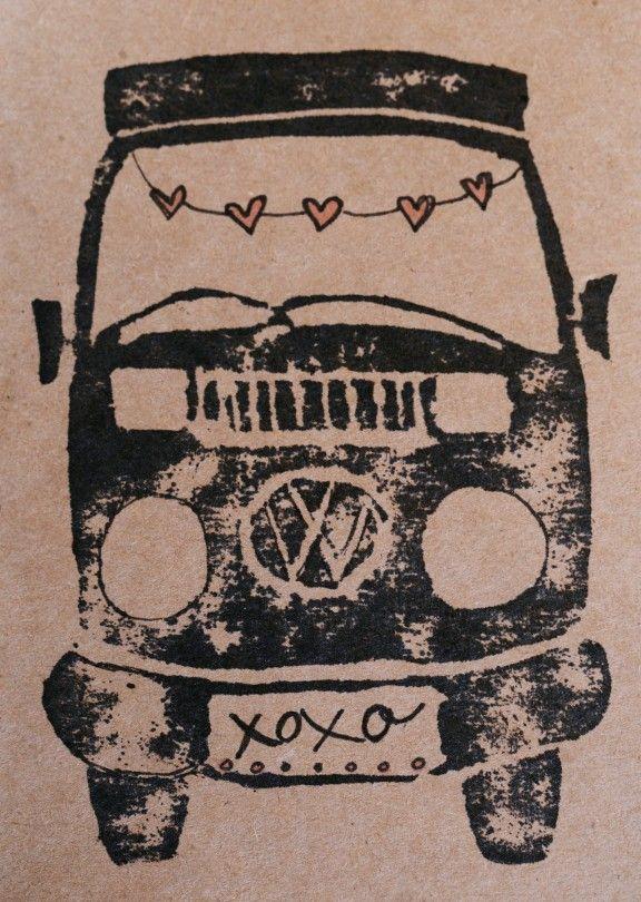 Valentine's VW Bus | www.gimmesomestyleblog.com #valentines