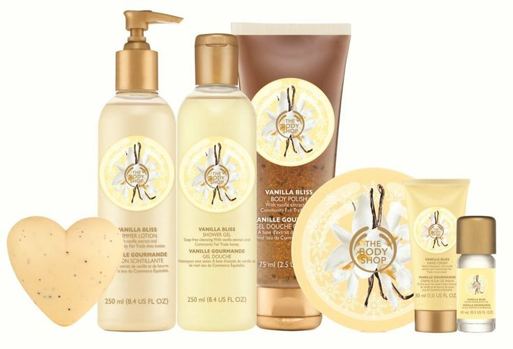 Vanilla Bliss The Body Shop