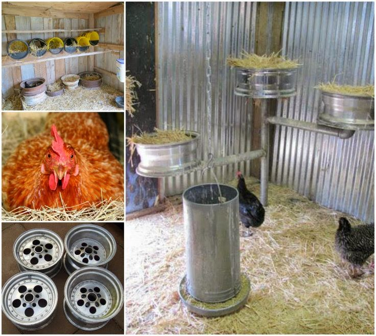 Turn old Car or Tractor Wheel Rims into these fantastic Nesting Boxes for your Chickens! This is a very easy idea to recreate.      Image S...