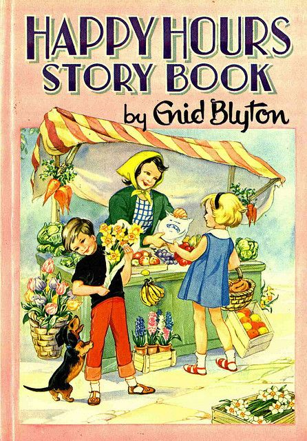 ''Happy Hours Story Book'', Purnell. Illustrated by Rene Cloke.