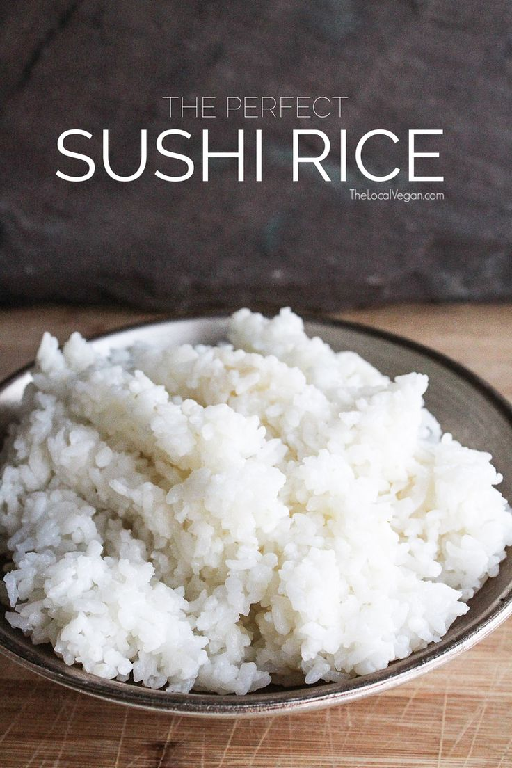 I've Been Getting A Lot Of Emails Asking How To Make Rice For Sushi