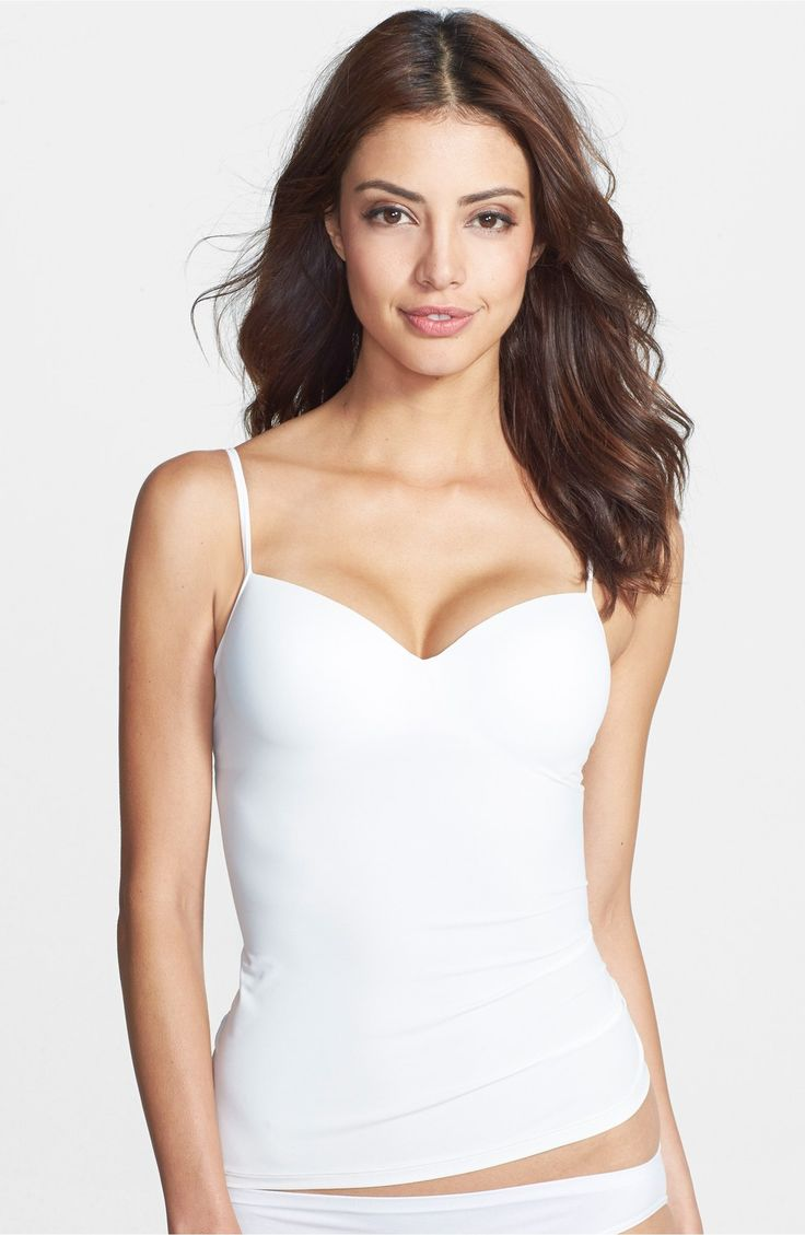 Main Image - Hanro 'Allure' Built-In Bra Camisole