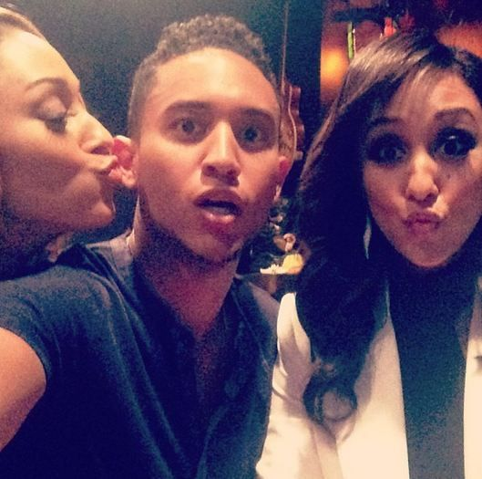 Tia Mowry-Hardict, Tahj Mowry and Tamera Mowry-Housely