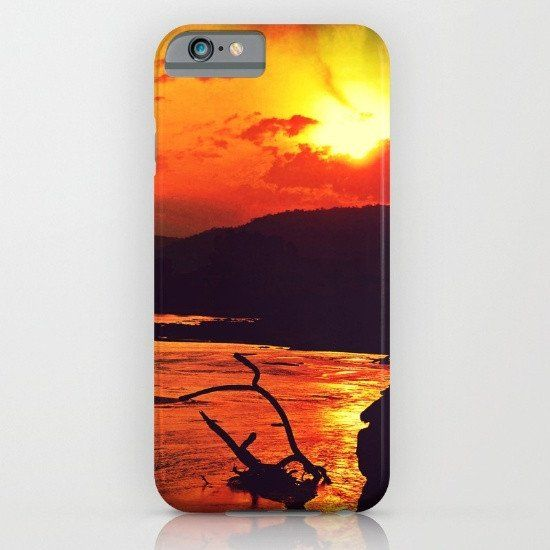 African sunset 4 iphone case, smartphone