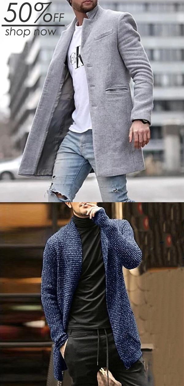 SHOP NOW >>Men's Comfy Outwears !10%OFF OVER$99 (CODE:WILD10) – Michael Blaschk