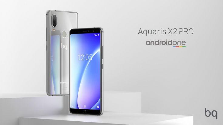 BQ Aquaris X2 et X2 Pro sera le premier Android One de la marque espagnole.