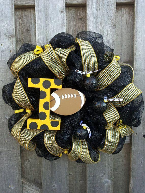 Iowa Hawkeyes Wreath by DoorEnvy on Etsy