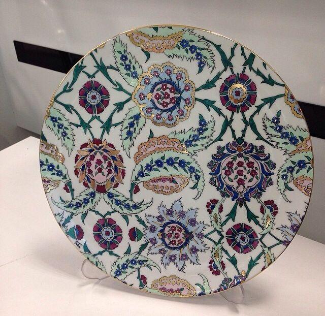 Tabak# benim tasarımım# gold#rölyef#hand made# porselen