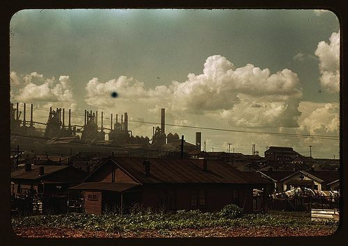 [Houses and factories] (LOC), via Flickr.