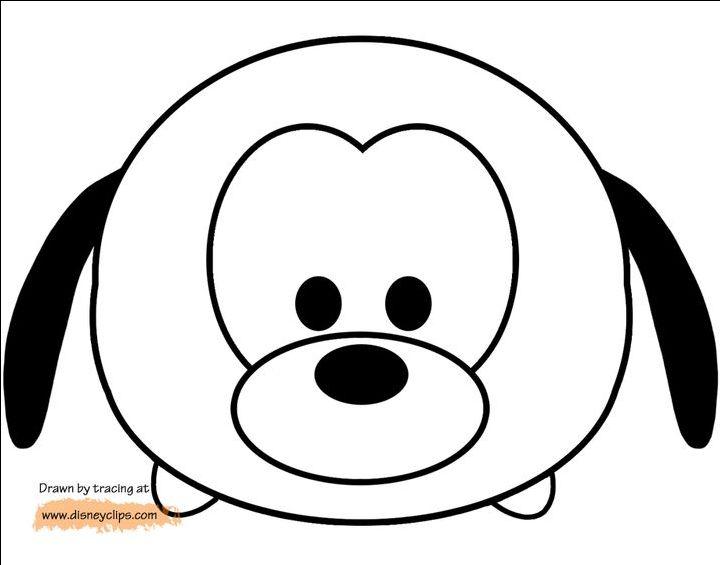 Les 36 Meilleures Images Du Tableau Coloriage Tsum Tsum