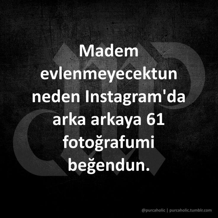 Madem evlenmeyecektun neden Instagram'da arka arkaya 61 fotoğrafumi beğendun.  #karadeniz #karadenizşivesi #sözler #anlamlısözler #güzelsözler #manalısözler #şiir #edebiyat #şiirsokakta #şiirheryerde #mizah #matrak #komik #espri #şaka #gırgır #komiksözler #augsburg #münchen #ulm #stuttgart #frankfurt #istanbul #ankara #izmir #samsun #trabzon #rize #ordu