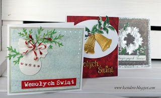 proste kartki bożonarodzeniowe