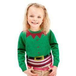 Uroczy mały #Elfik dla Twojego dziecka, przywoła uśmiech na twarz każdego malucha,  do kupienia http://swetryswiateczne.pl/pl/
