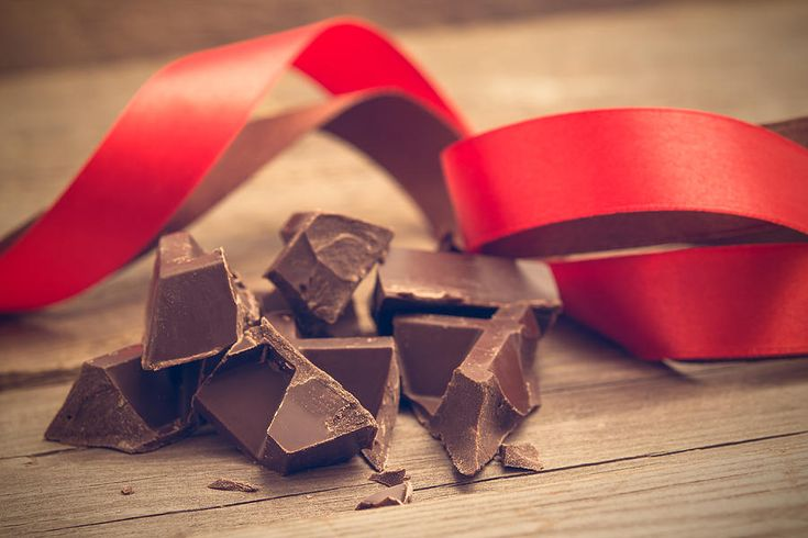 Pieces Of Chocolate Bar Photograph by Nadezhda Tikhaia #NadezhdaTikhaiaFineArtPhotography #ArtForHome #HomeDecor #Chocolate  #InteriorDesign #FineArtPrints