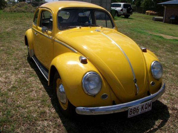 1962 VOLKSWAGEN 1200 (BEETLE) STANDARD $5500