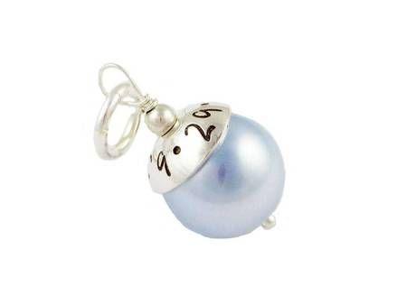 Something Blue - Personalized Wedding Bouquet Charm