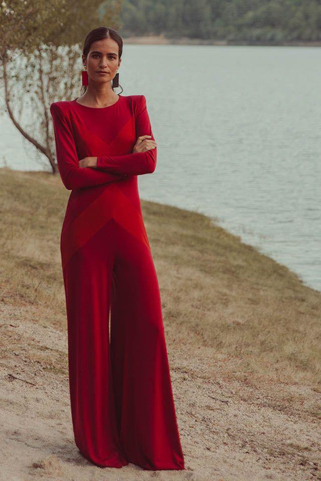 b4a1e7aad9fd vestido invitada fiesta boda otoño invierno largo corto mono colour ...