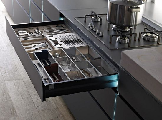 Contemporary kitchen drawers100 best Kitchens   Drawer Storage Ideas images on Pinterest  . Kitchen Drawer Design Ideas. Home Design Ideas