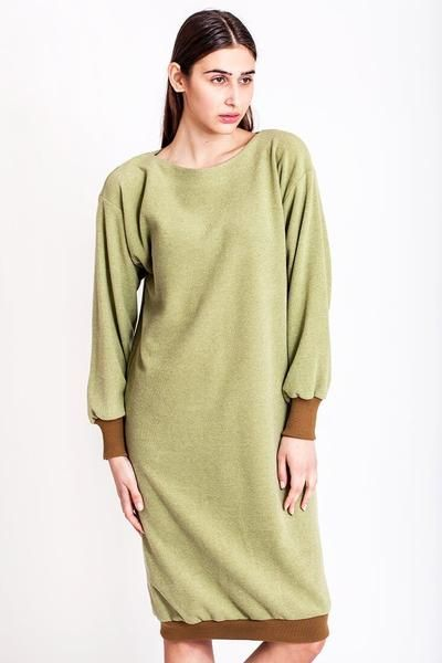 SALES - now €75.00 was €150.00.   Oversized pistachio 80s dress by Chicks on Chic