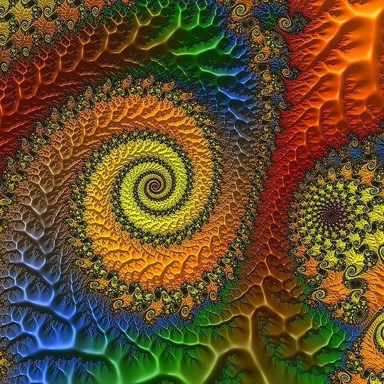 Fractal Spiral by genevieve