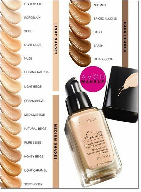 Avon Ideal flawless foundation.