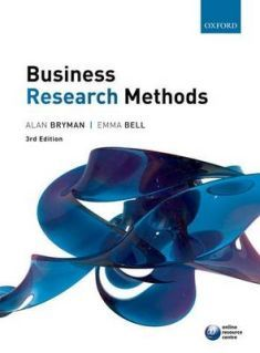 Covering a range of the core qualitative and quantitative methods, this comprehensive resource will equip students with invaluable advice on doing business research, from formulating research questions, reviewing literature and designing a questionnaire to carrying out data analysis and presenting research results.