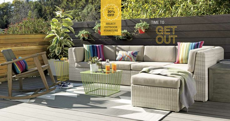 Cb2 Out Door Patio Furniture | Patio Deck | Pinterest | Patios, Modern And  Outdoor Living