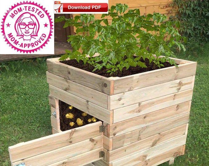 Wood Planter Plan Raised Planter Plan Flower Planter Plan Flower Box Plan Raised Flower Box Plan Pdf Plan Porch