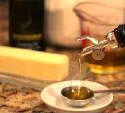 Como sustituir la Mantequilla por el Aceite de Oliva - http://www.mytaste.co.ve/r/como-sustituir-la-mantequilla-por-el-aceite-de-oliva-2091012.html