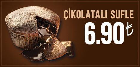 Çikolatalı Sufle 6.90 TL