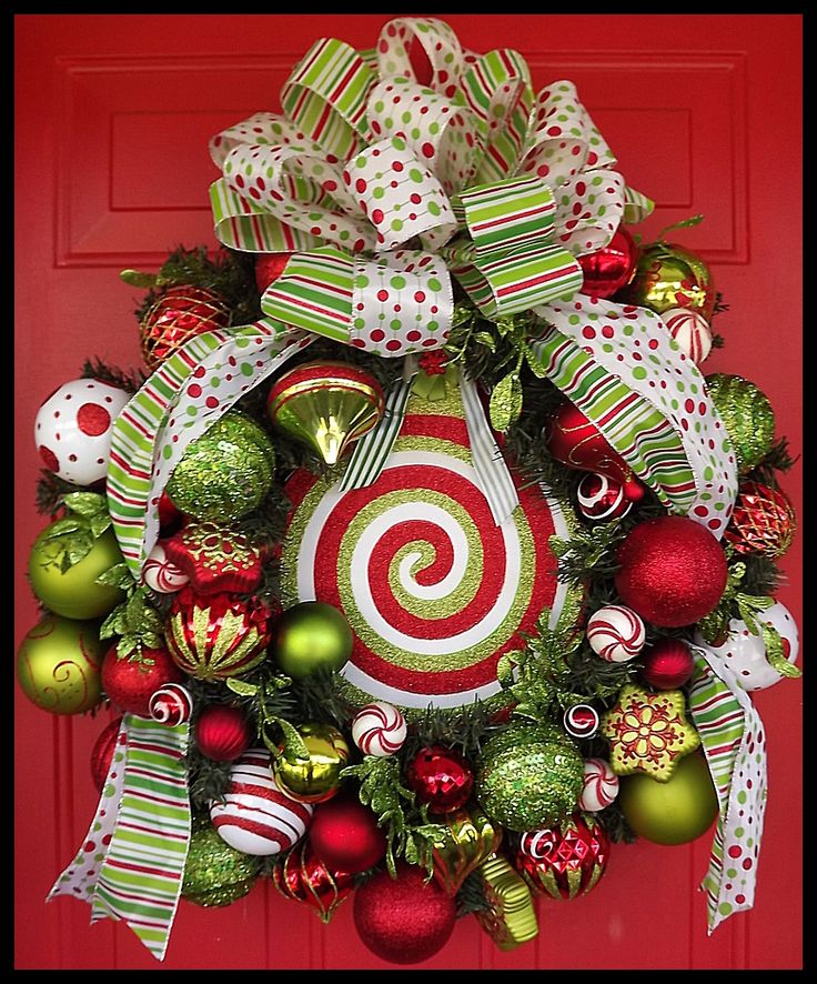 christmas wreaths for front door holiday cheer christmas wreath is on sale now beautifully. Black Bedroom Furniture Sets. Home Design Ideas