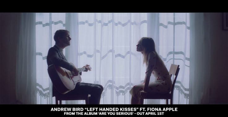 """Left Handed Kisses"" ft. Fiona Apple from the album 'Are You Serious' by Andrew Bird. 'Are You Serious' out now- iTunes: http://found.ee/AreYouSerious_iTDLX ..."