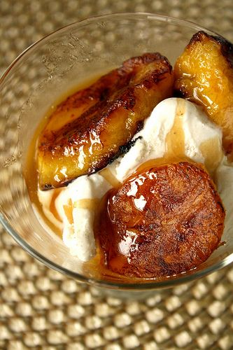 Bobby Flay's Grilled Plantains with Rum-Brown Sugar Glaze look amazing! #GrillinGoodness