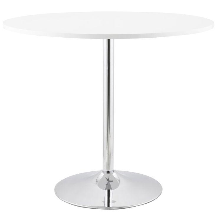 17 meilleures id es propos de table ronde blanche sur pinterest salle m - Petite table ronde blanche ...