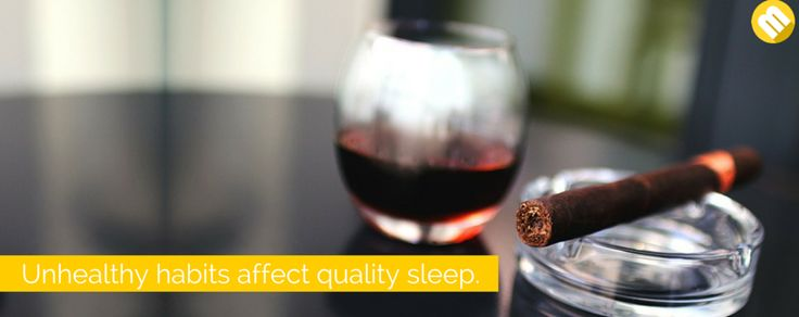 Cut the alcohol, caffeine, and cigarettes in your life: Those who have unhealthy habits, such as drinking alcohol, consuming too much caffeine, and puffing cigarettes, are said to experience poor quality of sleep.