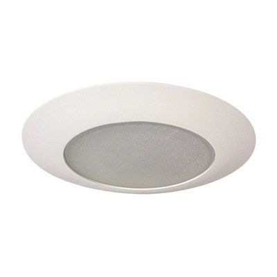 Galaxy Lighting 516WH 6-in Line Voltage Shower Recessed Lighting Trim