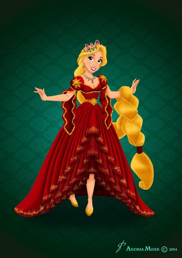 Royal Jewels Dress Edition: RAPUNZEL by MissMikopete.deviantart.com on @DeviantArt