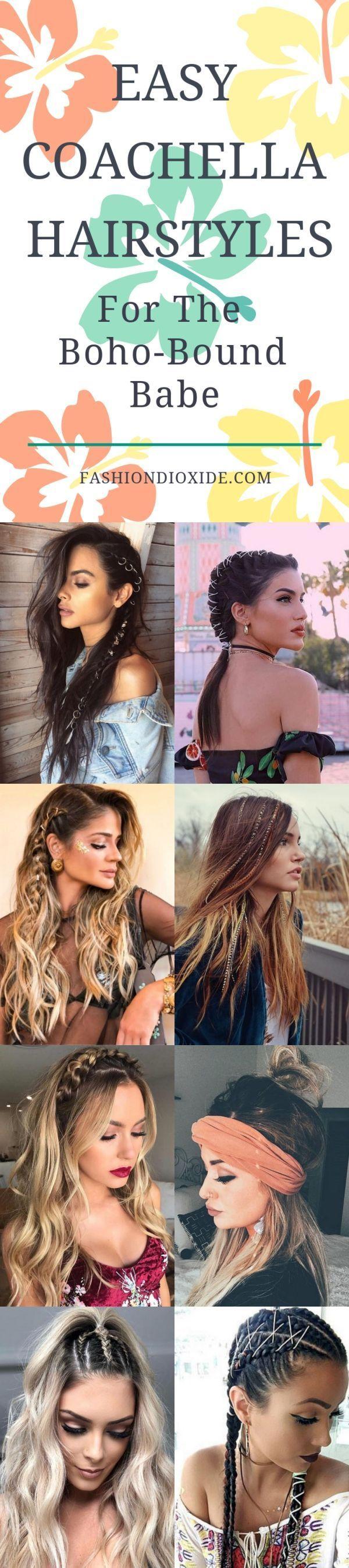 40 easy coachella hairstyles for the boho-bound babe #certain #coachella #easy #clothes #diy-hairstyles