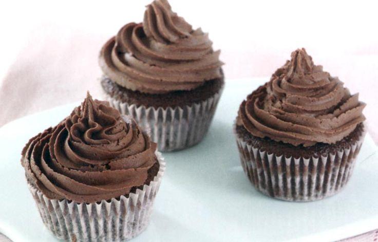 Cupcakes de Chocolate, preparación paso a paso