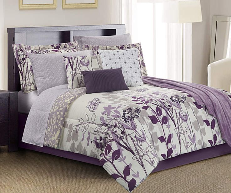 Best 25+ Purple comforter ideas on Pinterest | Plum ...